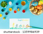 Easter Concept  Basket With...
