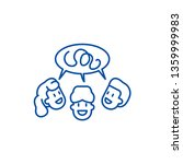 focus group line icon concept.... | Shutterstock .eps vector #1359999983