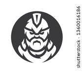 spartan warrior vector... | Shutterstock .eps vector #1360016186