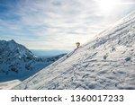 skitouring in tatra mountains ... | Shutterstock . vector #1360017233