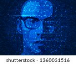 concept of programmer or hacker ...   Shutterstock .eps vector #1360031516