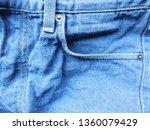 jeans pocket template...   Shutterstock . vector #1360079429