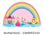 a children's style illustration ...   Shutterstock .eps vector #1360092110
