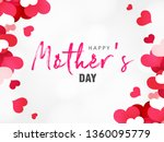 happy mother s day elegant... | Shutterstock .eps vector #1360095779