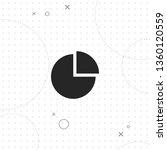 diagram  pie chart  vector best ... | Shutterstock .eps vector #1360120559