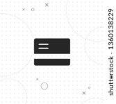 credit card  vector best flat... | Shutterstock .eps vector #1360138229