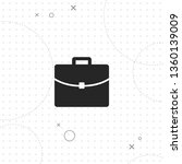 briefcase  vector best flat... | Shutterstock .eps vector #1360139009