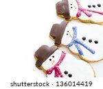 Gourmet Snowman Cookies On...