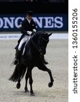 Small photo of Dorothee Schneider (GER) riding Sammy Davis Jr during the Equita Longines 2018, on October 31th to November 4th , 2018, in Lyon, France - Photo Romain BIARD / DPPI