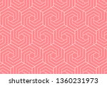 abstract geometric pattern with ... | Shutterstock .eps vector #1360231973