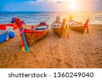 Soft Fisherman Boats Sand Beach - Fine Art prints