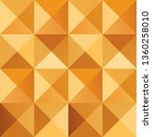 geometric simple golden colored ... | Shutterstock .eps vector #1360258010