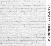 White Brick Wall Texture Or...