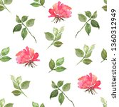 watercolour seamless pattern... | Shutterstock . vector #1360312949