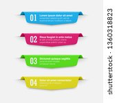 infographics banners. a vivid... | Shutterstock .eps vector #1360318823