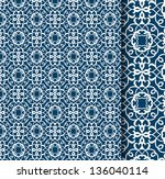 beautiful pattern  with detail... | Shutterstock .eps vector #136040114