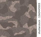 urban geometric camouflage.... | Shutterstock .eps vector #1360445003
