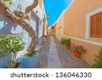 Greece Syros  Street View Of...