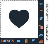 heart. perfect icon with bonus...