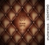 Coffee Background  Leather...