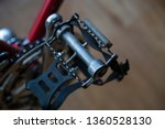 bike bicycle pedal top down... | Shutterstock . vector #1360528130