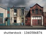 Derelict Abandoned Houses And...