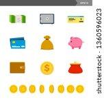 set of money storage. vector...   Shutterstock .eps vector #1360596023