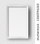 vector realistic square empty... | Shutterstock .eps vector #1360596263