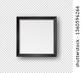 vector realistic square empty... | Shutterstock .eps vector #1360596266
