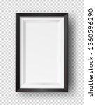 vector realistic square empty... | Shutterstock .eps vector #1360596290