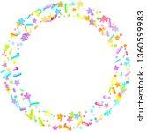 sprinkles grainy. cupcake... | Shutterstock .eps vector #1360599983