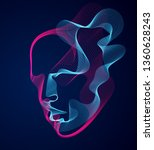 Beautiful Vector Human Face...