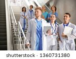 group of medical students in...   Shutterstock . vector #1360731380