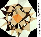 abstract random polygonal... | Shutterstock . vector #1360732520