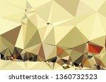 abstract random polygonal... | Shutterstock . vector #1360732523