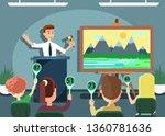 auction public sale banner.... | Shutterstock .eps vector #1360781636