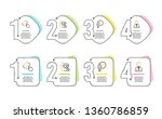 waiting  couple and smile icons ... | Shutterstock .eps vector #1360786859