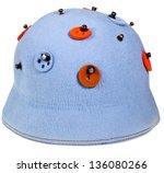 Felt Woman Decorated Cloche Hat ...