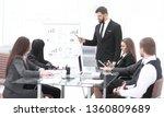 attentive business partners... | Shutterstock . vector #1360809689