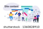 contents creation professionals ...   Shutterstock .eps vector #1360828910