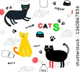 seamless background with...   Shutterstock .eps vector #1360867856