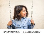 happy arabian family having fun ... | Shutterstock . vector #1360890089