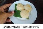 Small photo of jadah bakar or misbegotten fuel is javanese traditional snack