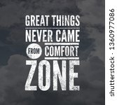 motivational quotes for life. | Shutterstock . vector #1360977086