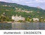 stresa  italy.  regina hotel... | Shutterstock . vector #1361063276