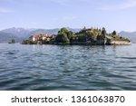 lombardy  italy. isola bella... | Shutterstock . vector #1361063870