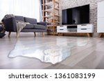 close up of flooded floor in... | Shutterstock . vector #1361083199