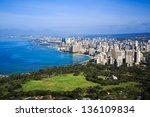 View Of Downtown Honolulu And...