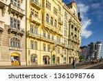 prague  czech republic   april... | Shutterstock . vector #1361098766