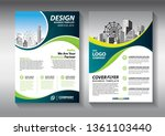 business abstract vector... | Shutterstock .eps vector #1361103440
